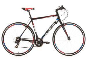 Fitnessrad 21 Gänge Fitness-Bike Velocity schwarz 28 Zoll (59 cm)
