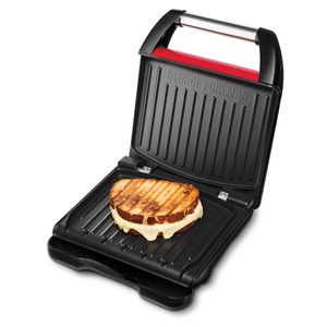 George Foreman Steel Family Fitnessgrill Rot