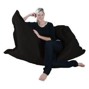 MR. BIG Riesen-Sitzsack 140 x 180 cm, Schwarz