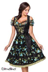 Dirndl mit Spitzenbluse von Dirndline - Kleid Oktoberfest Wiesn Gr S -
