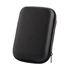 1x HDD-Tasche Schwarz HDD-Tragetasche 143,9 x 102,8 x 43,7 mm Hard Drive Disk Hard Case Tasche