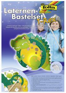 "folia Laternen-Bastelset ""T-Rex"""