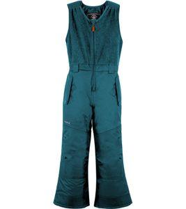 kamik Stormsolid Kinder Schneehose isolierende Ski-Hose mit weichem Fleece-Latz Blau, Größe:92