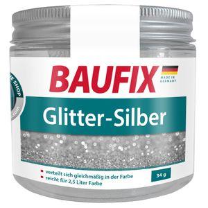 BAUFIX Glitter Zusatz Silber