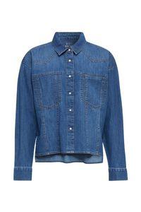 Esprit NEW cropped blouse C902 M