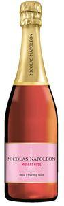 Nicolas Napoleon Sekt Muscat Rose vollfruchtig mild und würzig 750ml