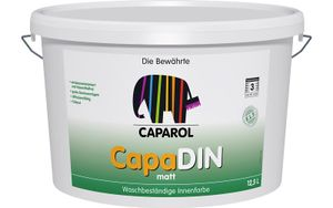 Caparol CapaDin 12,5ltr. Weiss ; Innenfarbe; Wandfarbe