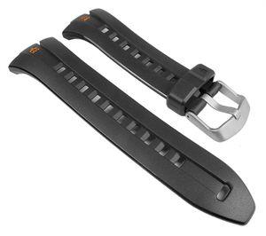 Timex Ironman PolyurethanUhrenarmband Wasserfest schwarz für T5K529, T5K528