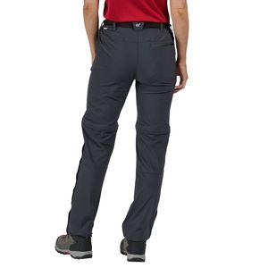 Regatta Outdoorhose Zip Off Damen XERT Stretch Z/O Trousers III, Farbe:Dunkelblau, Damen Größen:36