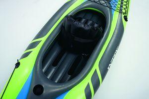 Intex- Boot Kajak Schlauchboot Challenger K1 Set, bis 100kg - grün,  68305NP