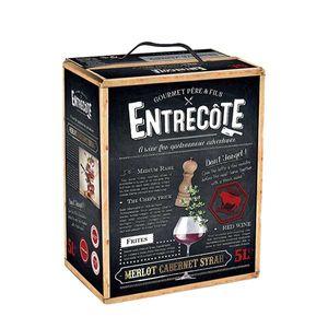 Rotwein Frankreich Cuvée Entrecôte Bag in Box trocken (1x5L)