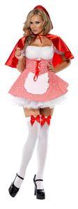 Smiffy's - Rotkäppchen-Kostüm für Damen - XS