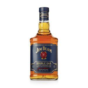 Jim Beam Double Oak Twice Barreled Kentucky Straight Bourbon Whiskey | 43 % vol | 0,7 l