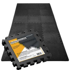 Bodenschutzmatten Set Unterlegmatten - Schutzmatten Puzzlematte für den Boden - 54-tlg Set