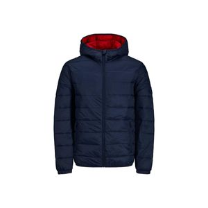 Jack & Jones Herren Magic Hooded Puffer Jacket, Blau M