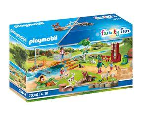 PLAYMOBIL Family Fun 70342 Erlebnis-Streichelzoo