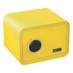 Olympia Go Safe 100 Tresor Design Safe, Zahlencode, Farbe: Zitronengelb