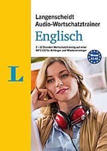 Langenscheidt Audio-Wortschatztrainer Englisch - für Anfänger und Wiedereinsteiger