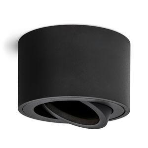 Schwenkbare Aufbauleuchten SMOL matt schwarz - Aufbauspot schwenkbar geeignet für LED Module