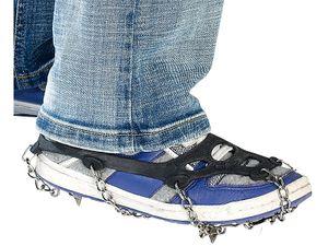 Semptec Schuh Schneeketten Antirutsch Spikes Schuhketten Schneespikes Eis Eisspikes rutschen