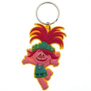 Trolls World Tour Poppy Schlüsselanhänger TA6010 (Einheitsgröße) (Rot/Grün)