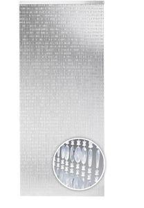 Türvorhang DIAMONDS Kunststoff klar 72 Stränge 90x200 cm