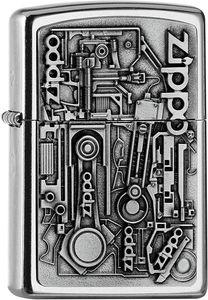 ZIPPO ® Feuerzeug 2006539 Motor Parts Emblem