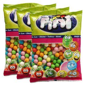 Fini Bubble Gum Balls Kaugummis 1kg (3er Pack)