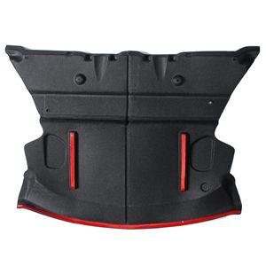AUDEW Schalldichte Baumwollmatte Schallschutz Auto Heckkoffer Kofferraum für Tesla Model 3 Schutzabdeckung Aufkleber Fit