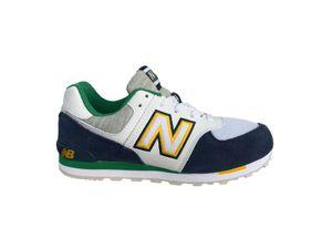 New Balance GC 574 Jungen Sneaker in Blau, Größe 39
