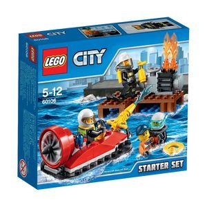 LEGO® City Feuerwehr-Starter-Set 60106