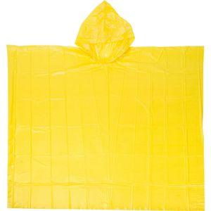 2x Regencape Regenponcho Regenjacke Regenschutz Regen Schutz Fahrrad gelb