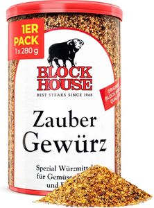 Block House Zaubergewürz, Dose 280g