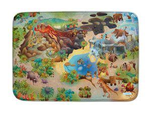 ACHOKA Spielmatte Dino us Connect 100 x 150 cm