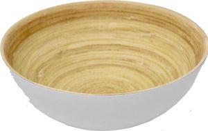 KeMar KitchenwareBambus Snack Schale | Schüssel Delfin Grau