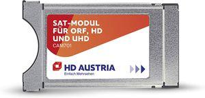CYE CI Modul CAM701 HD Karte (ORF HD, ATV HD, PULS 4 HD, ORF-Freischaltung, ber 80 HD Sender, Aufnahmefunktion, TV-App, CI+ Steckplatz, einfache Installation)