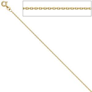 JOBO Ankerkette 585 Gelbgold 1,2 mm 45 cm Gold Kette Halskette Federring