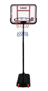 B-EASE Basketballständer / Basketballkorb - Mobil und höhenverstellbar 1,50 - 2,10 m - INDOOR / OUTDOOR