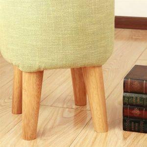 4 Stk. Möbelfüße Tischbein Möbelfuß Holz höhe 8cm Holzfüße Sofabeine Schräge