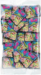 Trolli Saure Glühwürmchen 100x10g Beutel, für Karneval oder Party, 1000g
