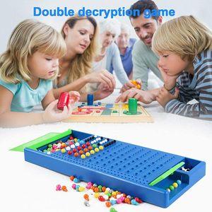 NightyNine Mastermind, Code Breaker Spiel 2021 Neuauflage Brettspiel Puzzle Interaktives Spiel für Kinder Erwachsene