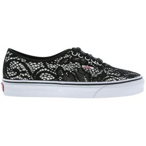 VANS UA Authentic Damen Schuhe black/true 37