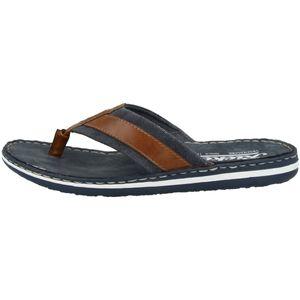 Rieker 21095-24 Schuhe Herren Zehentrenner Pantoletten , Größe:45 EU, Farbe:Braun
