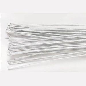 Culpitt - Blumendraht Weiß  28 Gauge - 50 Stück