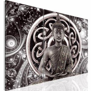Buddha Blumen BILD 120x80 cm − FOTOGRAFIE AUF VLIES LEINWANDBILD XXL DEKORATION WANDBILDER MODERN KUNSTDRUCK MEHRTEILIG 504831c