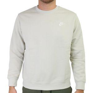 Nike Sportswear Club Rundhalsshirt Herren Hellgrau (BV2662 072) Größe: L