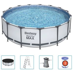 Bestway Steel Pro MAX Swimmingpool-Set Rund 457x122 cm