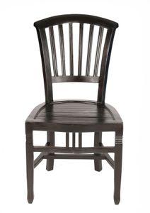 SIT Möbel Esszimmerstuhl aus Mahagoni in braun|B50 x T55 x H95 cm|09554-30|Serie SAMBA