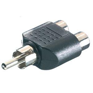 ViVanco™3/36-N - Audio-Splitter - RCA (W) - RCA (M)