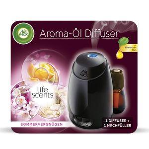 Air Wick Aroma Öl Diffuser Starter Set Duftflakon Raumduft Sommervergnügen 20ml